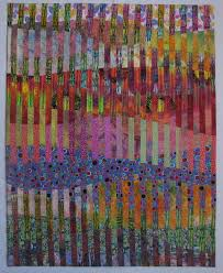 """Colors of Colorado Art Quilt by Louisa L. Smith - Quilt Escapes & Colors of Colorado. """" Adamdwight.com"""