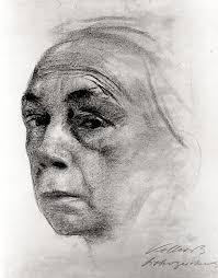 Kathe Kollwitz   Drawing OWU   Kathe kollwitz, Portrait artists pencil,  Portrait drawing