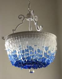 crystal light fixtures bathroom beautiful sea glass chandelier lighting flush mount ceiling light fixture