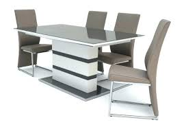 high gloss grey dining table furniture a gloss dining table and 6 chairs ext grey high gloss dining table 6 chairs black high grey high gloss round dining