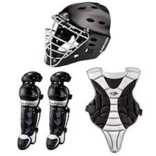 Easton Catchers Gear Size Chart Easton Black Magic Junior Youth Catchers Gear Box Set Ages 6 8