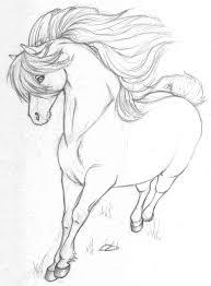Cavallo Disegno Per Bambini Facile Con Disegnare Dipingere Gatti