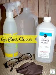 diy eye glasses cleaner