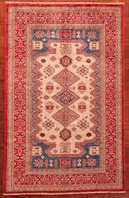stani kazak tribal rug 7947