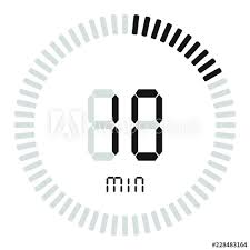 10 Minuite Timer The Digital Timer 10 Minutes Electronic Stopwatch With A