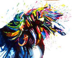 Pony Painting Etsy
