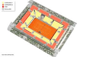 Philippe Chatrier Seating Chart Roland Garros 2020 Ticketing Location Map Tickets Resale