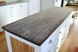 sealing butcher block countertops cleaning stained oiling new sealing butcher block countertops treating with polyurethane
