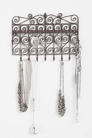 Hanging Necklace Organizer 62 Best Necklace And Earing Hangers Images On Pinterest Jewelry