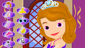 sofia the first sofia s royal makeup disney cartoon game for kids in english you