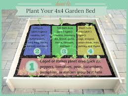 how to start a garden bed. Fine Garden 4x4 Gardening Planting To How Start A Garden Bed I