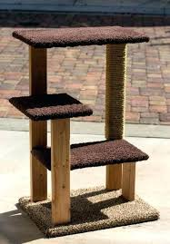 creative ideas diy kitty condo cat plans tree tower best collections home design