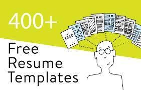 Free Resume Print And Download 413 Free Resume Templates In Word Download Customize
