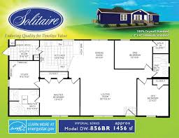 Spacious Double Wide Mobile Home Floorplans in New Mexico  Texas     BR bedroom double wide floorplan