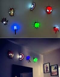 superhero wall lamp amazing marvel wall lights for a superhero themed room i know my superhero