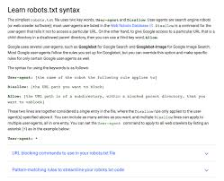 perfect robots txt file for seo