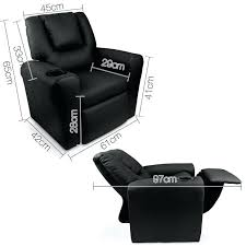 black leather recliner adjule and ottoman office chair sofa gumtree