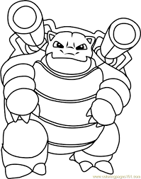 Small Picture Blastoise Pokemon Coloring Page Image Gallery HCPR