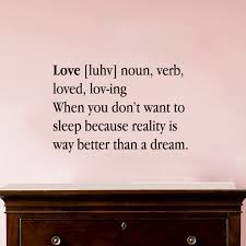 Definition Of Love Quotes Inspiration Love Definition Wall Quotes Decals