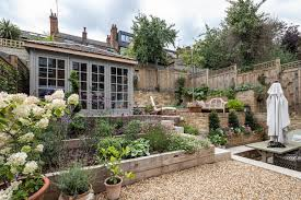 how to landscape a sloping garden