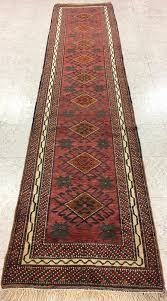 rose tufted rugs red awesome 3 x 11 kurdish tribal nomadic hand knotted wool runner red