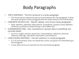 essay terminology essay a piece of writing that analyzes 8 body paragraphs