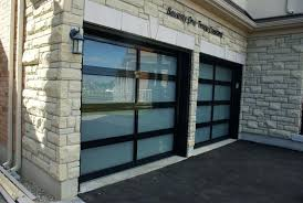 garage glass doors contemporary