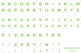 Download Free Font Pt Eye Chart