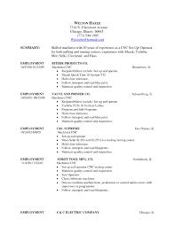 Transform Production Operator Job Resume About Resume Machine