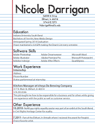 Resume Draft Resume Draft Resume Templates 17