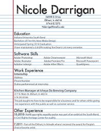 Resume Draft Resume Draft Resume Templates 17