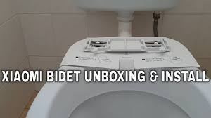 How to install a bidet - Xiaomi Mijia <b>SmartMi smart heated toilet seat</b> ...