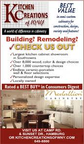 Building Remodeling Check Us Out Kitchen Creations Of WNY Interesting Remodeling Advertising
