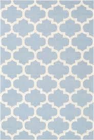 blue and white rug modern pollack light geometric trellis super area rugs striped australia blue and white