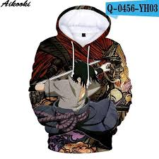 Aikooki <b>Hot Anime Naruto Hoodies</b> Men Women Winter pullovers 3D ...