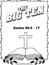 Awesome 10 Commandments Coloring Pages Big