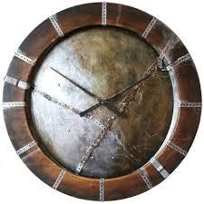 clocks huge large industrial style