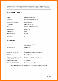 Empty Resume Form Complete Resume Format Download Lovely Empty