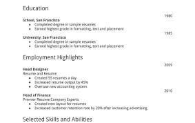 Resume Skillful Design Basic Resume Format 16 Simple Amazing