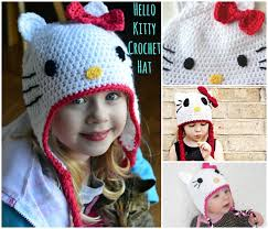 Crochet Kitty Hat Pattern