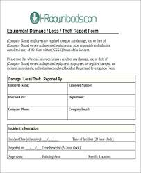 Incident Report Template Microsoft Word Interesting Fire Incident Report Template Supergraficaco