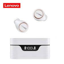 Original <b>Lenovo LP12 TWS</b> Bluetooth 5.0 Earphones Charging Box ...