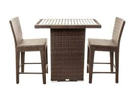 condo patio furniture. Condo Counter Outdoor Furniture Patio Dining Table And Chair Set For Balcony Or Small Deck Area N