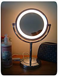 battery operated makeup mirror mugeek revlon