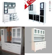 Factory price one piece kitchen units / small kitchen pantry cupboard  design for dubai