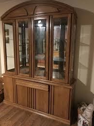lighted china cabinet hutch beveled glass doors glass shelves honey beveled glass doors beveled glass doors