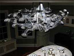 madlab unveils bacterioptica an ultra geeky chandelier that s made from 15 000 feet of fiber optic cable attached to 100 glass petri dishes