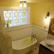 Simple Yet Nice Glass Block Bathroom Windows Civilfloor - Decorative glass windows for bathrooms
