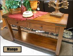 winners only mango occasional table collection winners only mango sofa table