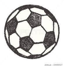 サッカーボールのイラスト素材 10669327 Pixta